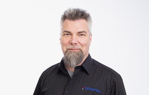 Sewatek avainasiakaspäällikkö Harri Saikkonen
